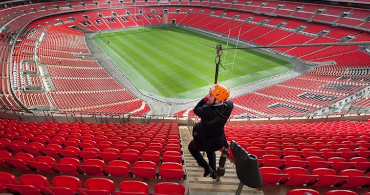 wembley zipline