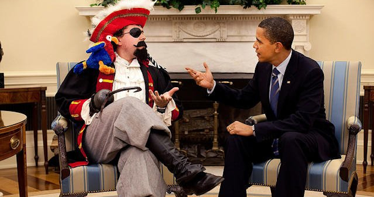 Barack Obama Pirate