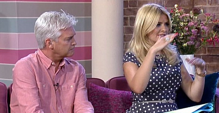 Holly Willoughby Philip Schofield Jonah Falcon
