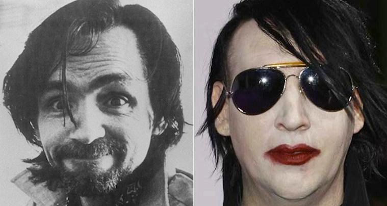 Marilyn Manson Charles Manson