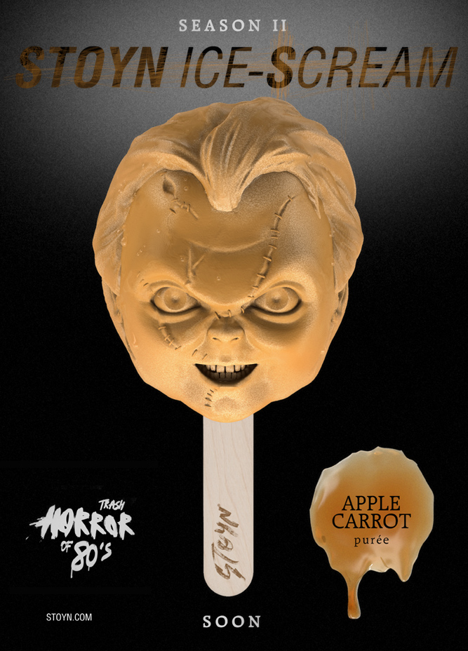 Stoyn horror ice lollies - chucky