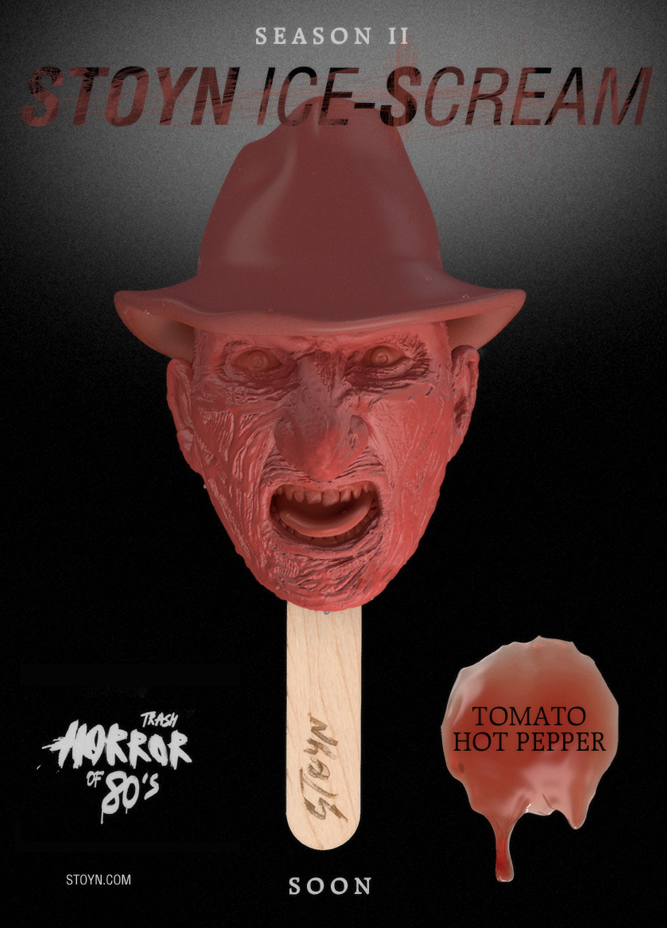 Stoyn horror lollies Freddy Krueger