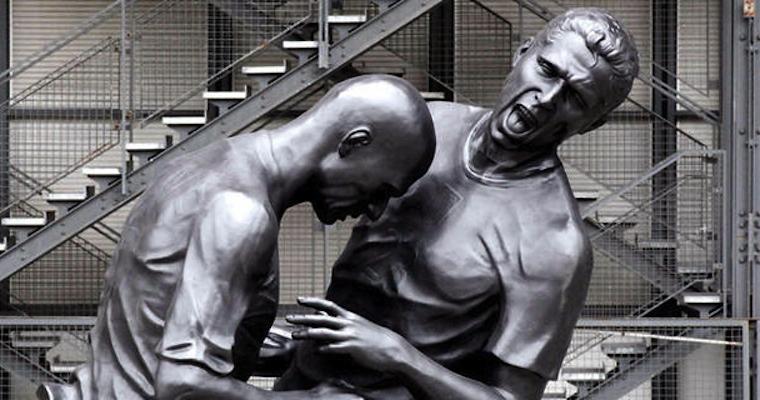 Zidane Headbutt Statue
