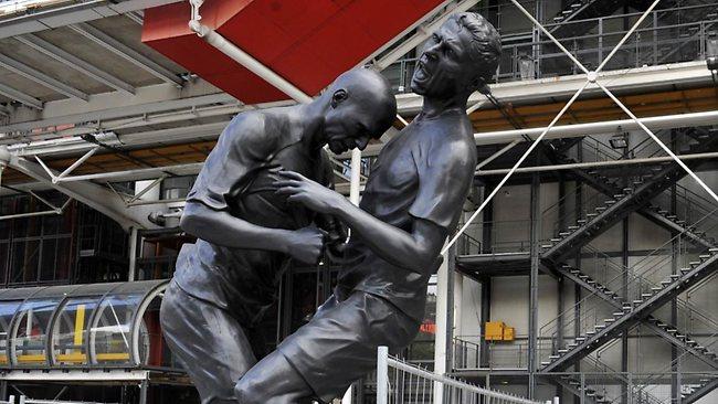 Zidane Headbutt Statue 2