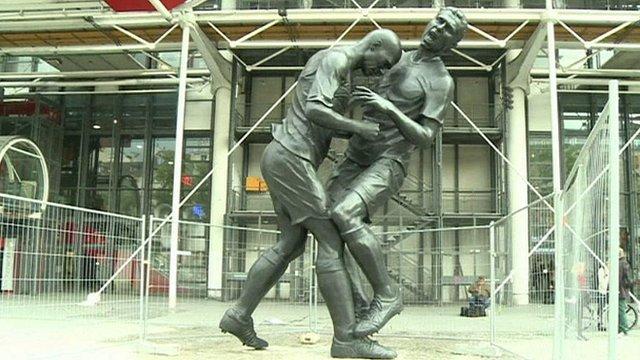Zidane Headbutt Statue 3