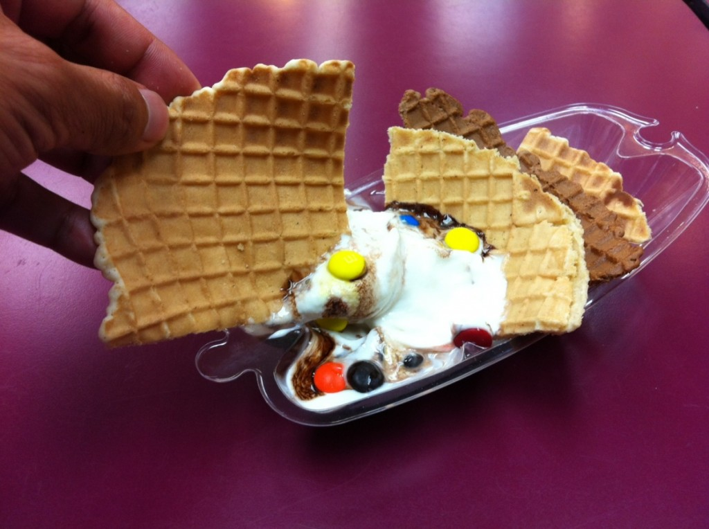 ice cream nachos 2