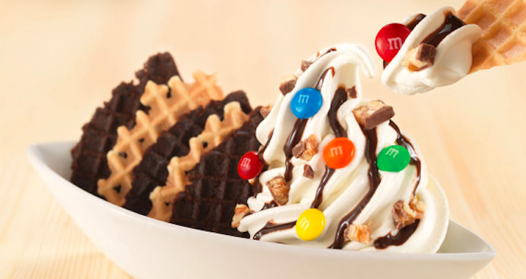 ice cream nachos