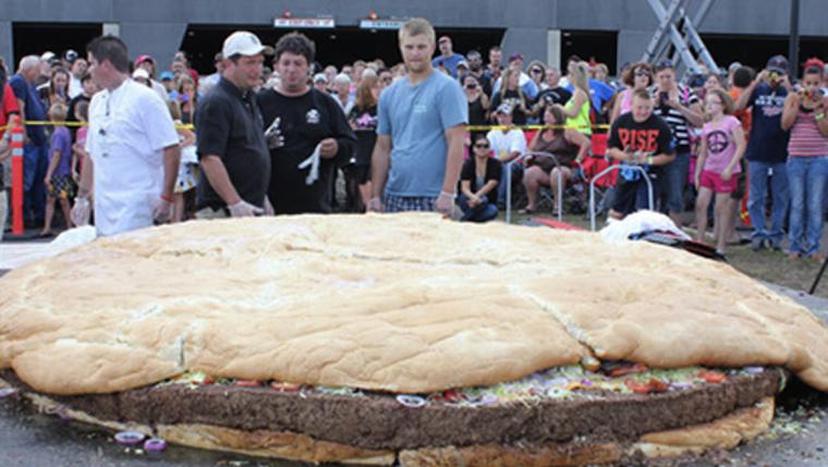 one ton bacon cheeseburger