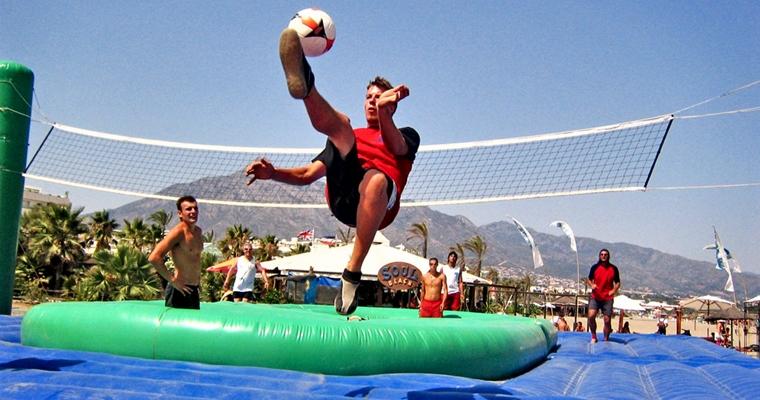 Bossaball - Overhead Kick