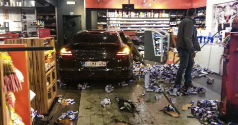 Jonathan Legear Porsche Petrol Station