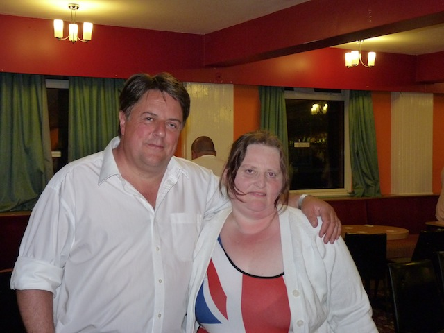 Nick Griffin With Hottie