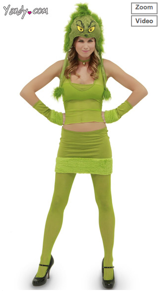Sexy Halloween Costume The Grinch  sc 1 st  Sick Chirpse & Sexy Halloween Costumes u2013 If You Think A Cheeseburger Costume Is ...