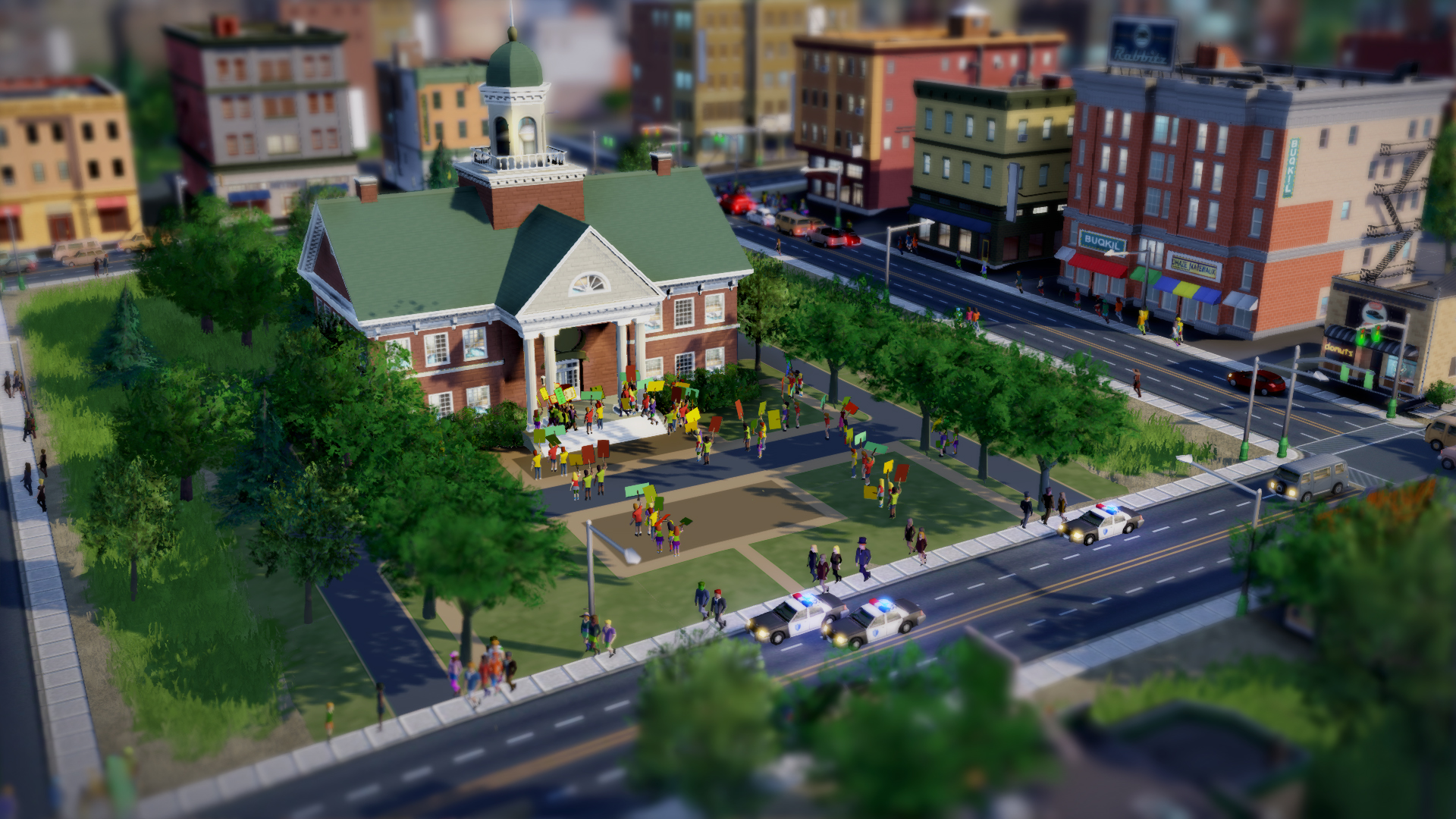 Simcity 2013 Islamic Protest
