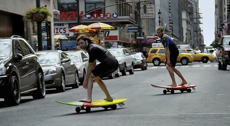Surfing the NYC Streets