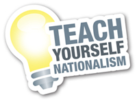 Teach Yourself Nationalism BNP Poster