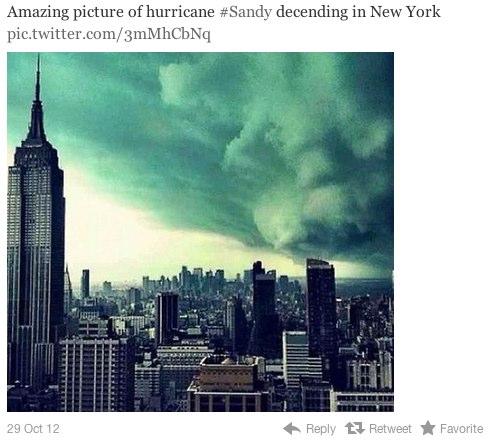 fake hurricane sandy 4