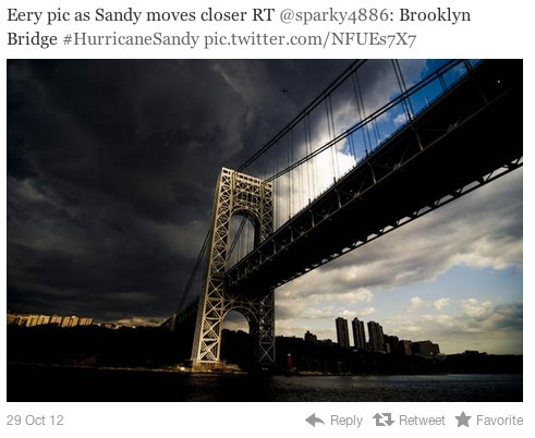 fake hurricane sandy 6