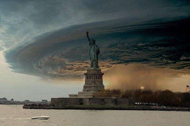 hurricane sandy fake
