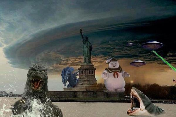hurricane sandy fake 1