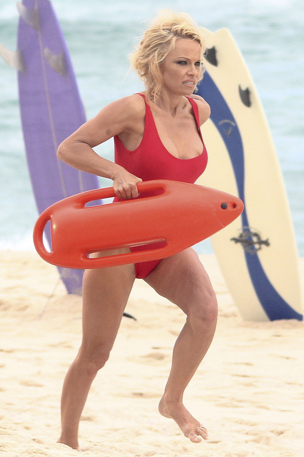 pamela anderson bathing suit 3