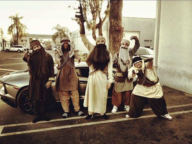 Chris Brown Halloween Costume 2012