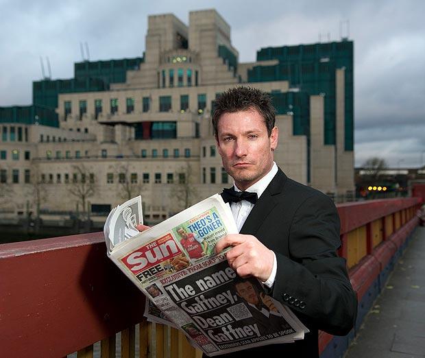 Dean Gaffney MI5 1