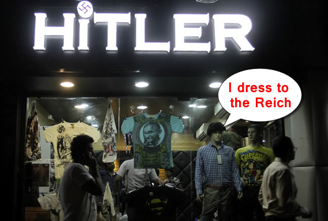 Hitler Shop India Reich