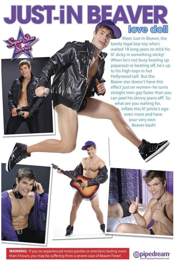 Justin Bieber Sex Doll 2