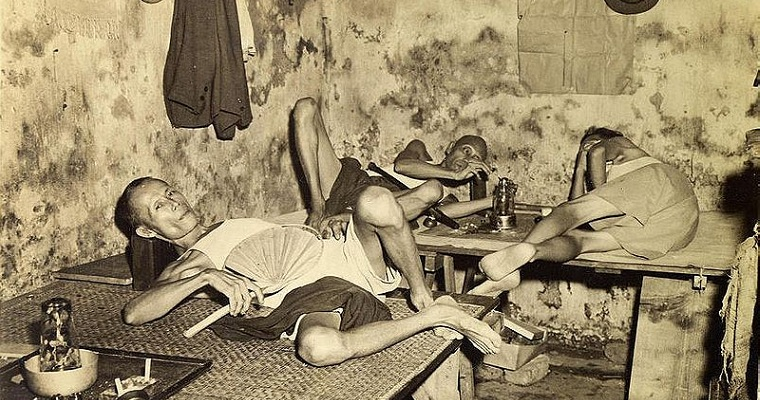 Kolkate Indian - Chinese Opium Den