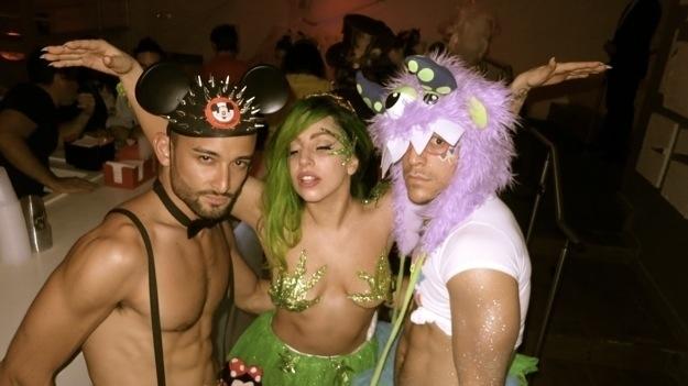 Lady Gaga Halloween costume 1