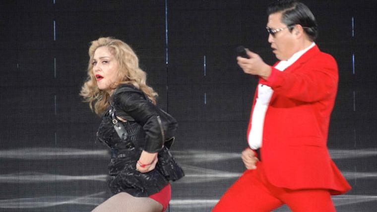 Madonna Psy Gangnam Style
