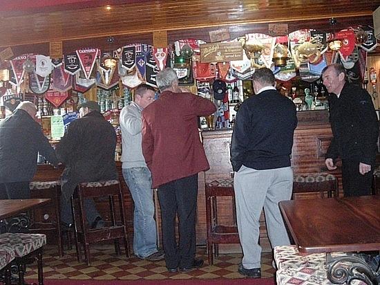Some Men at the Pub