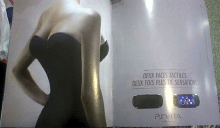 Playstation Advert Four Breasts