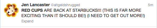 Starbucks Red Cup Tweets 10