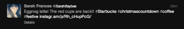 Starbucks Red Cup Tweets 11