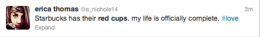 Starbucks Red Cup Tweets 20Starbucks Red Cup Tweets 20