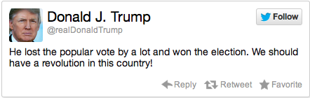 Donald Trump Election Reaction Tweet 2