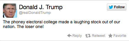 Donald Trump Election Reaction Tweet 3