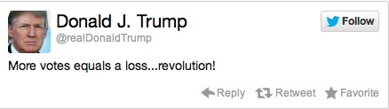 Donald Trump Election Reaction Tweet 6