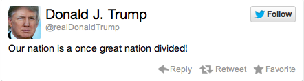 Donald Trump Election Reaction Tweet 9