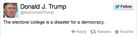 Donald Trump Election Reaction Tweet 10