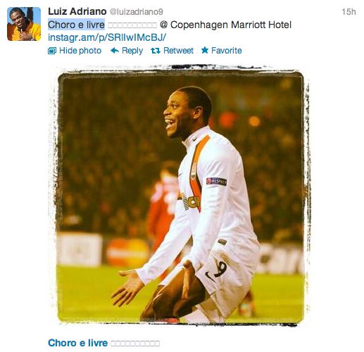 Luiz Adriano Twitter 2