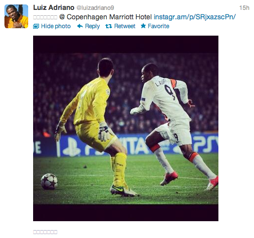 Luiz Adriano Twitter 1