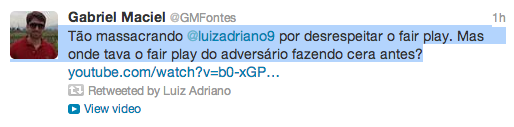 Luiz Adriano Tweet 3