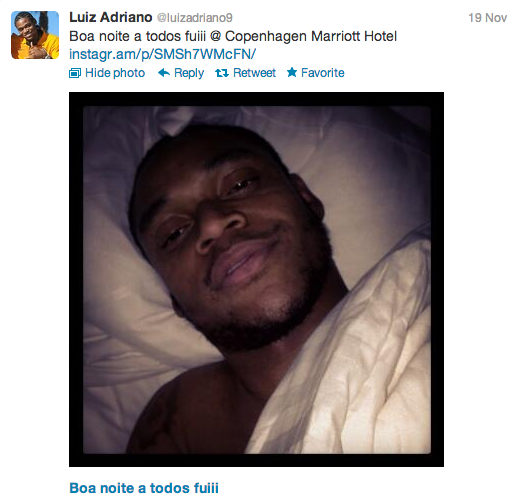 Luiz Adriano Tweet 5