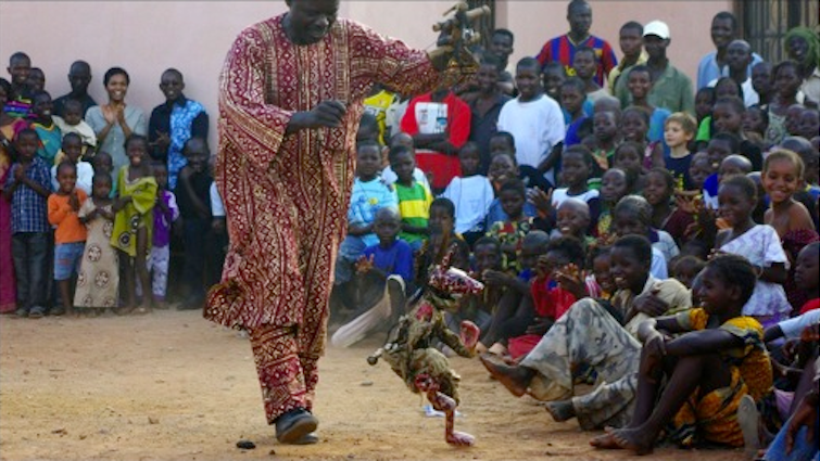 African Puppeteer