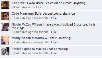 Bruce Lee Viral Ping Pong Screen Grab 7