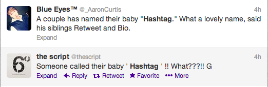 Hashtag Baby Twitter Screengrabs 4