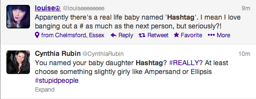Hashtag Baby Twitter Screengrabs 3