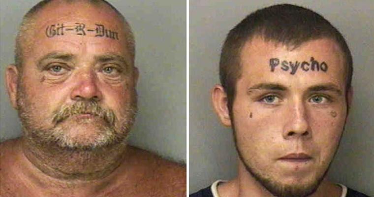 Two Tattoo Forehead - Mugshot - Main Pic
